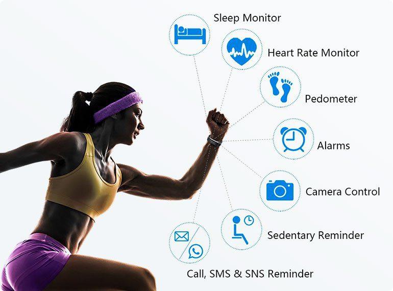 fitness tracker per la perdita di peso