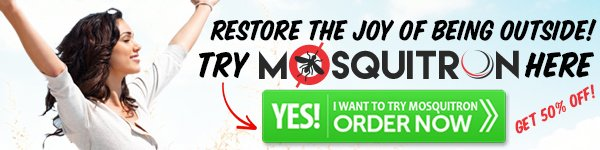 Get Mosquitron For 50% Off With WorldWide Shipping