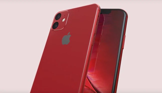 Leaked image of iPhone 11