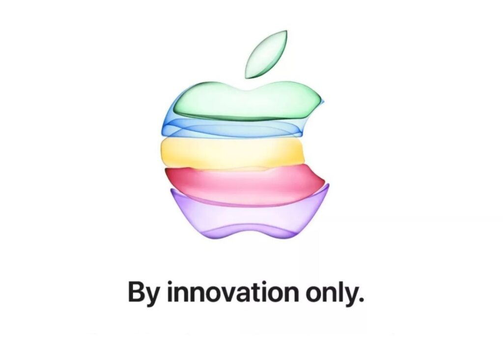 Apple multicolour Logo