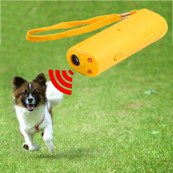 How does BarXStop ultrasonic dog bark control device work?