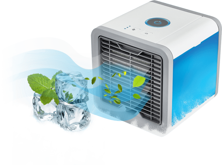 CoolAir - Portable Personal Cooler Fan