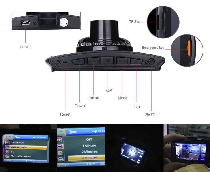 Car Protect Cam Features