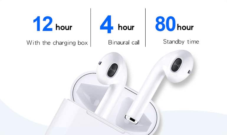 EchoBeat wireless Bluetooth earbuds