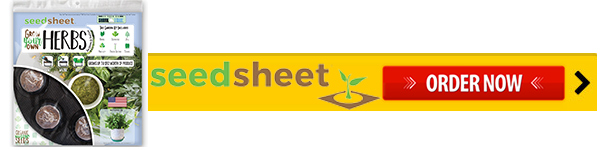 SeedSheet Order Now!