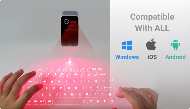 Dartle Type Laser Keyboard