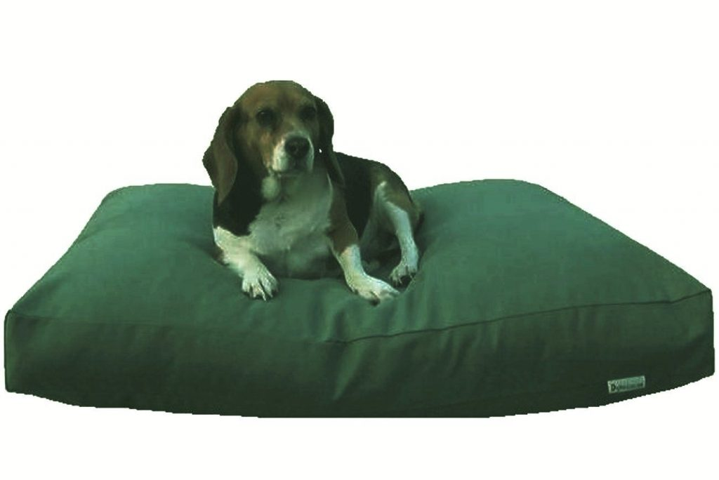 Dogbed4less Heavy Duty Olive Green Canvas Duvet Pet Dog Bed Cover