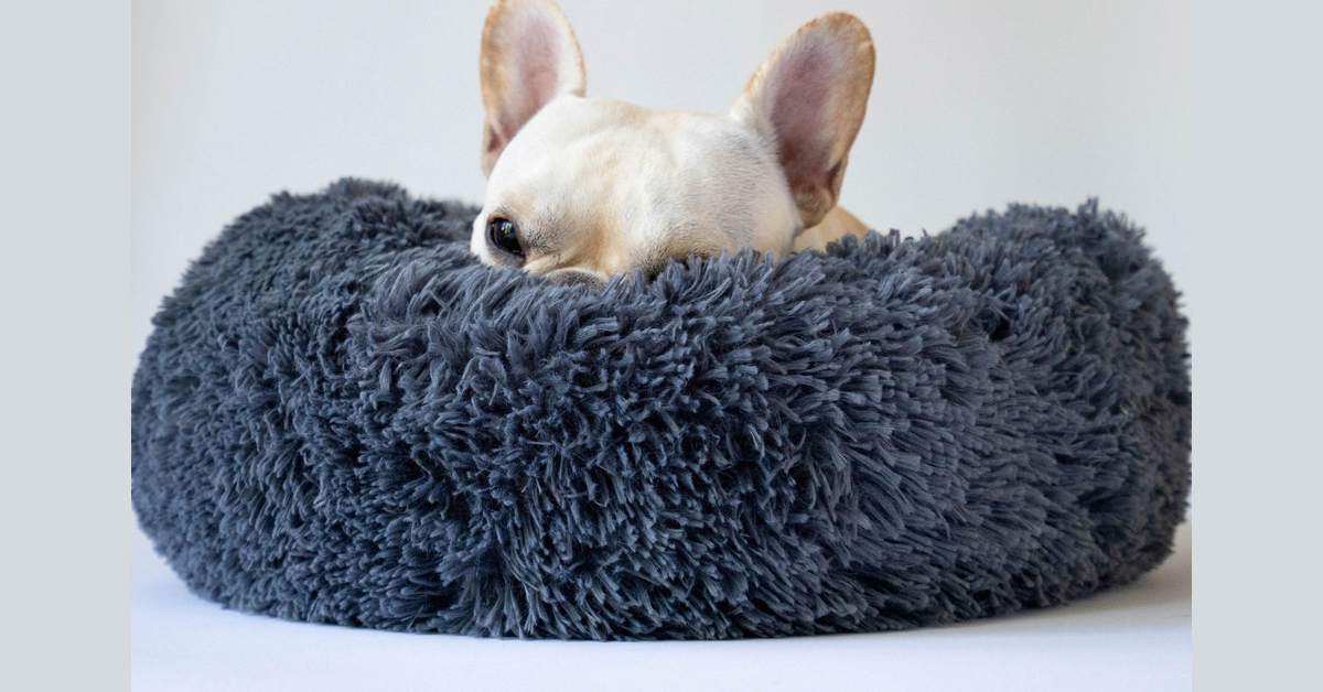 Fluffy Dog Bed For Small Dogs