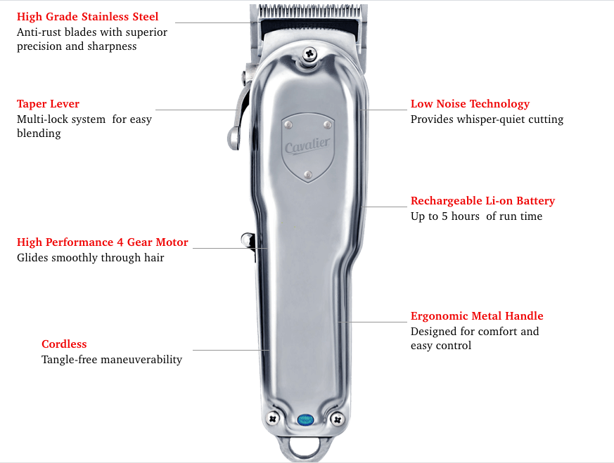 Feature Of Cavalier Essentials Hair Clipper