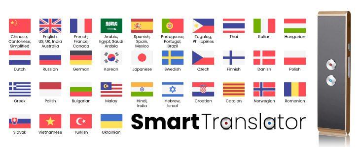 Main benefits of the Smart Translator