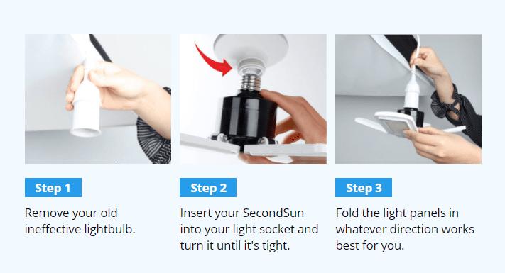 How to Set Up the SecondSun LED Light