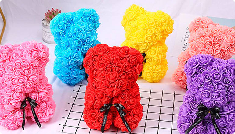 Roseal CuteBear Valentine Day Gifts