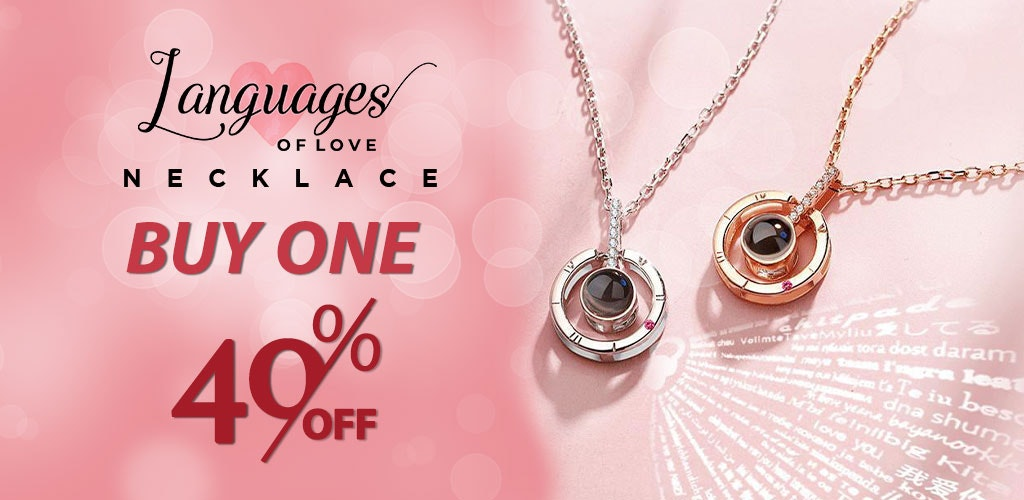 Language of Love Necklace - Valentine Day Gifts