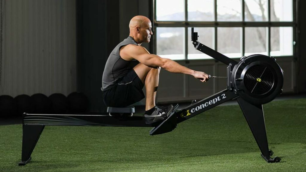 What is a rowing machine?